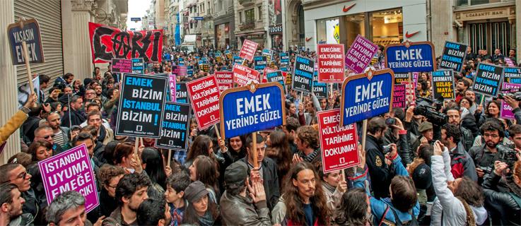 Audience emancipated: The struggle for the Emek Movie Theater (Özgürleşen seyirci: Emek Sineması mücadelesi)