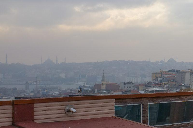 Blick von der Terrasse des Goethe-Instituts